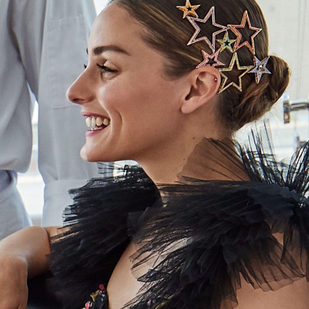 Olivia Palermo star hair accessories