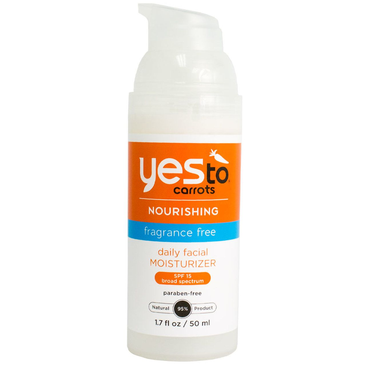 Yes To Carrots SPF 15 Fragrance-Free Daily Moisturizer