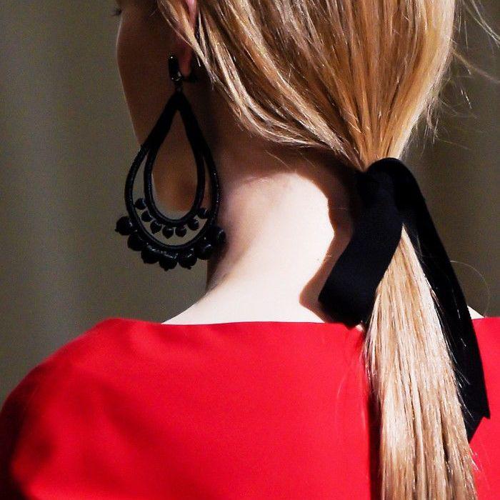 Statement Earrings Hairstyles