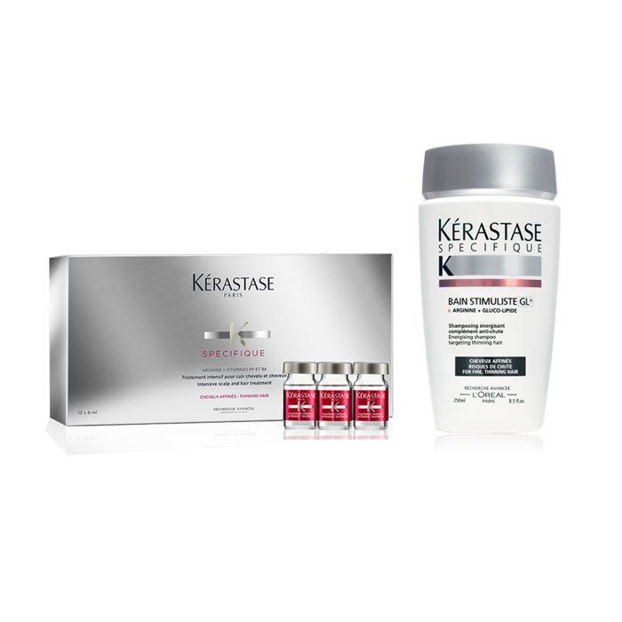 Kerastase Specifique Traitement Intensif Anti-Affinement and Bain Stimuliste - hair loss products