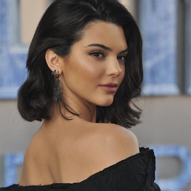 Kendall Jenner blowout