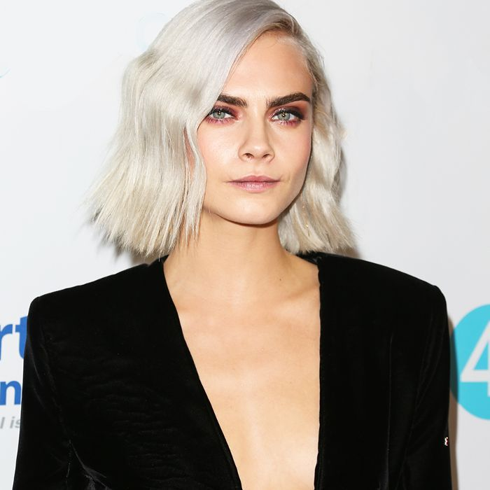 Cara Delevingne Haircut - Shaved Head Trend