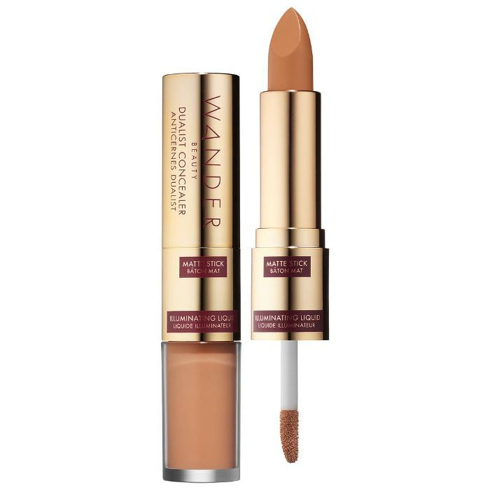 Dualist Matte and Illuminating Concealer Tan Stick - 0.16 oz/ 4.5 g, Liquid - 0.12 oz/ 3.5 g