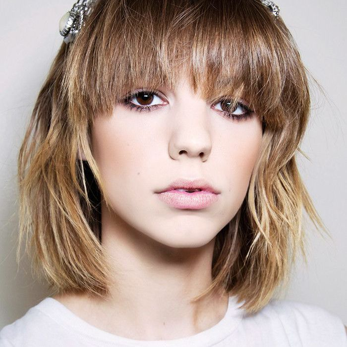 Fringes: Woman With Overgrown Fringe