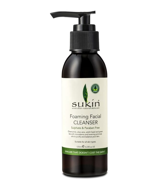 Boots Beauty: Sukin Foaming Facial Cleanser