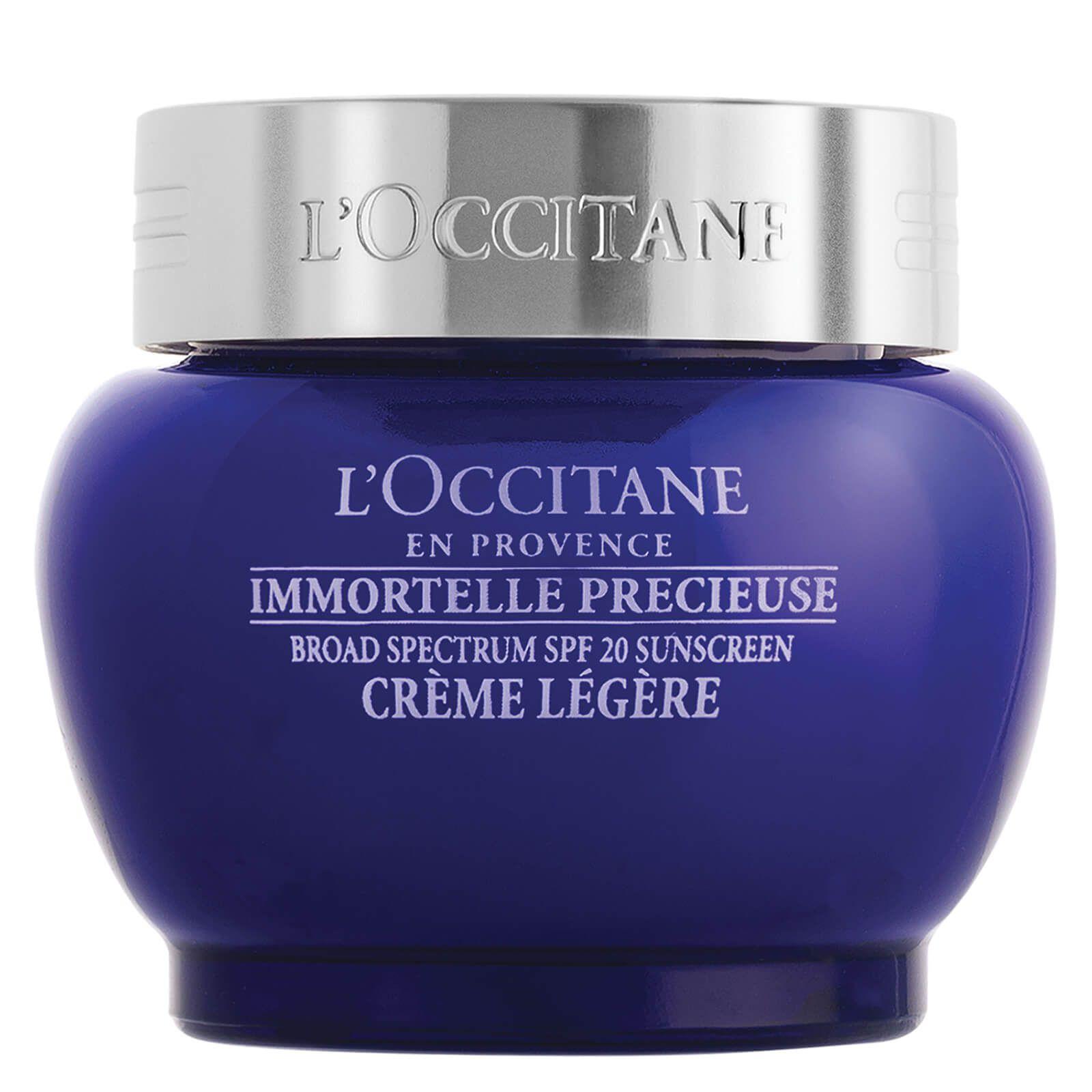 L'Occitane Immortelle Precious Light Cream SPF 20
