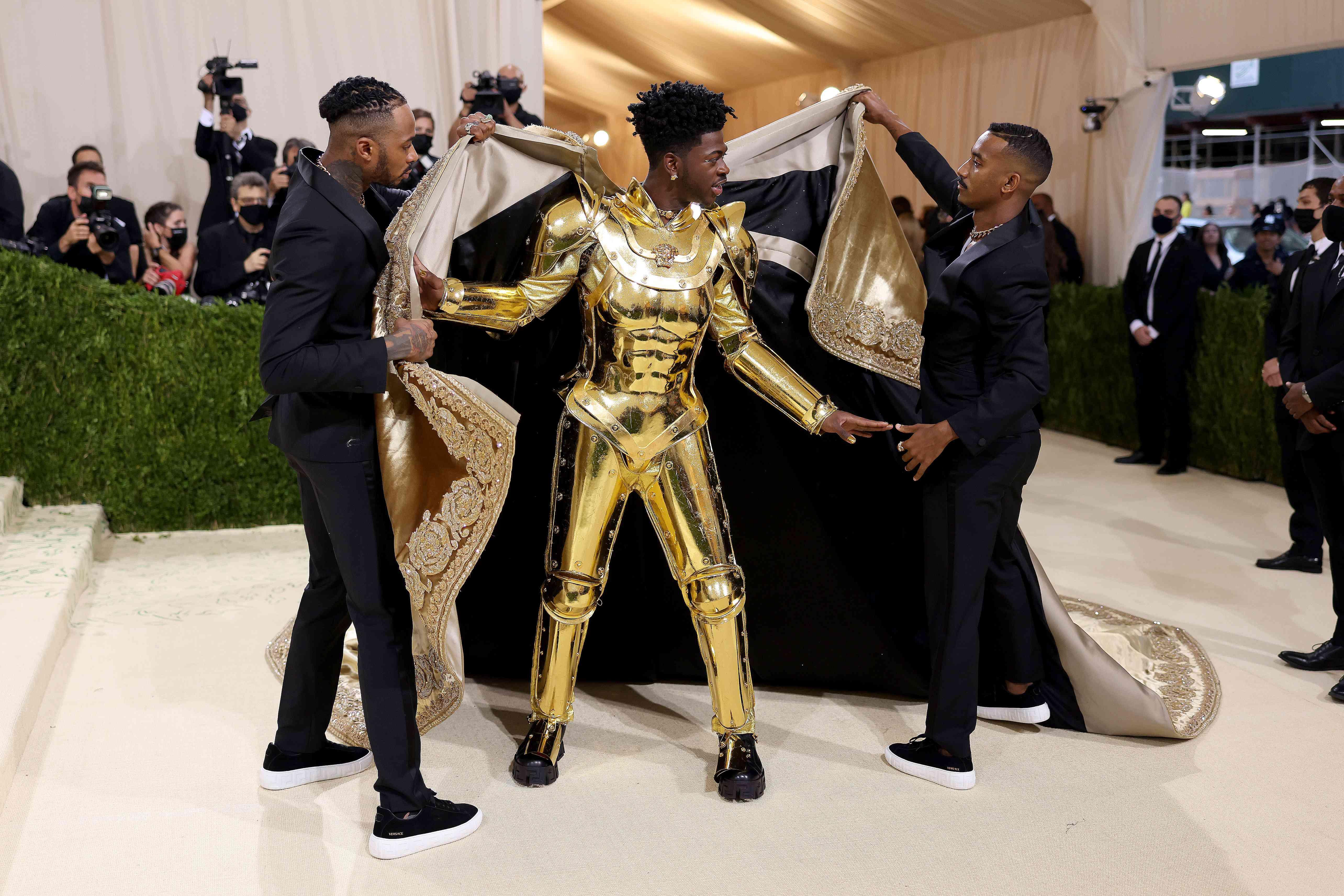 Lil Nas X at the 2021 Met Gala