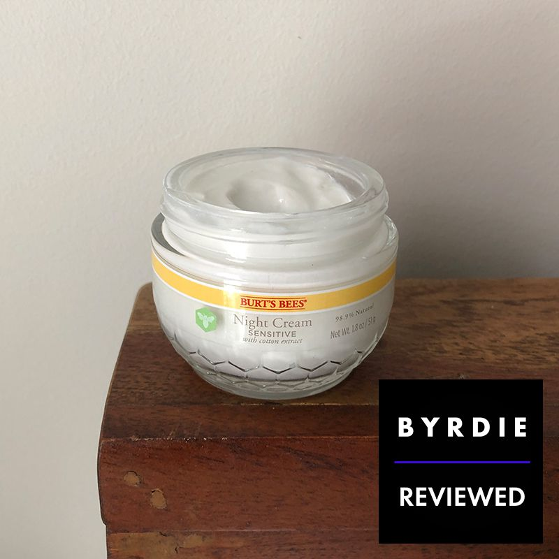 Burt's Bees Sensitive Night Cream Product