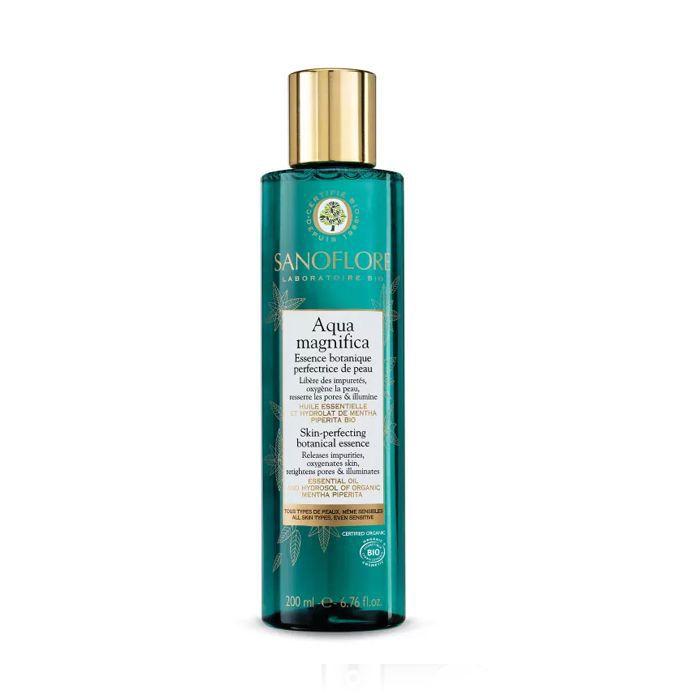 Sanoflore Organic Aqua Magnifica Peppermint Skin-Perfecting Purifying Toner