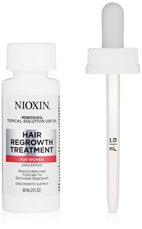 Nioxin Minoxidil Topical Solution USP 2% Hair Regrowth Treatment