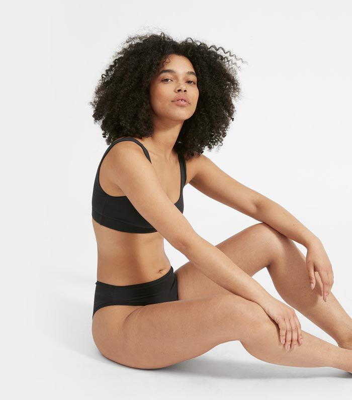 Everlane The High Rise Bikini