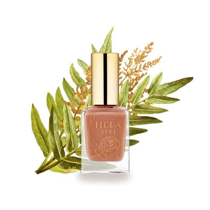 Flora 1761 nail polish in Desert Brush