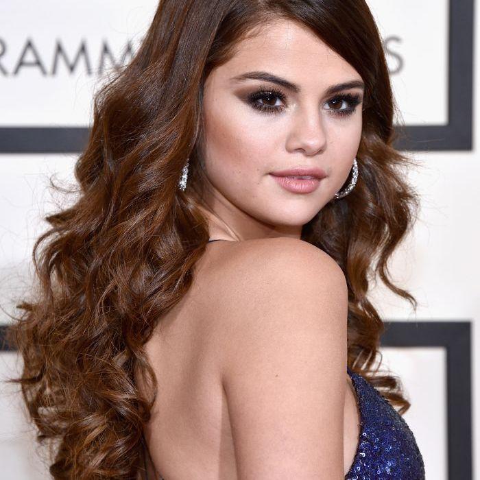 Selena Gomez with mermaid waves