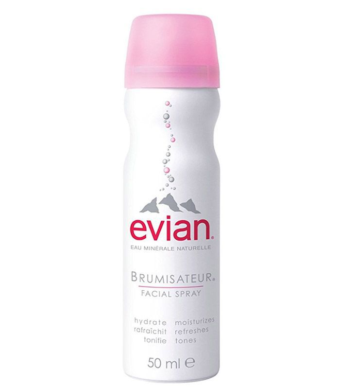 drew barrymore wavy hair hack: Evian Brumisateur Facial Spray