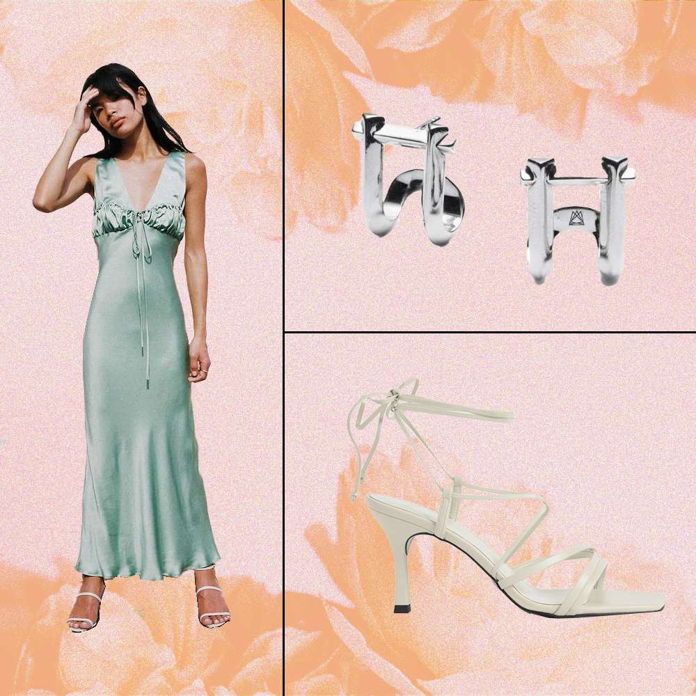 Silky Dress Going Out Outfit