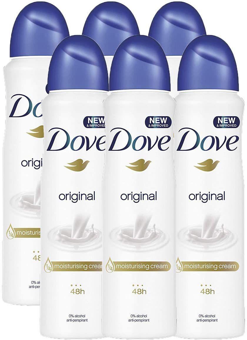 Dove Original Aerosol Spray Deodorant Set