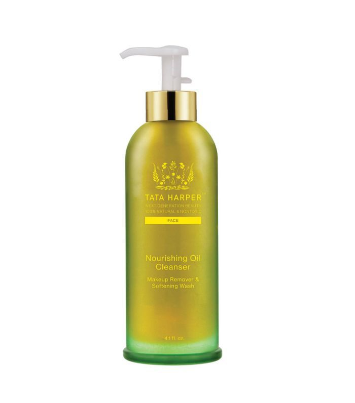 top skincare recommendations: Tata Harper Nourishing Oil Cleanser