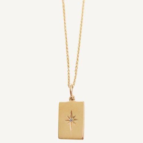 Kinn North Star Pendant Necklace