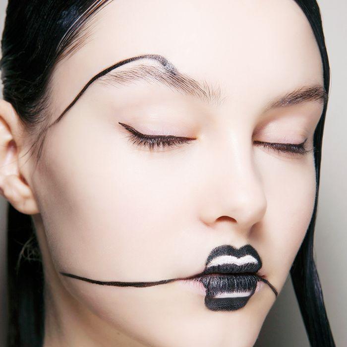 creative witch makeup