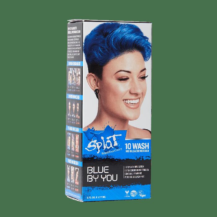 box of blue hair dye
