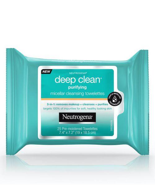Neutrogena Deep Clean Purifying Micellar Wipes