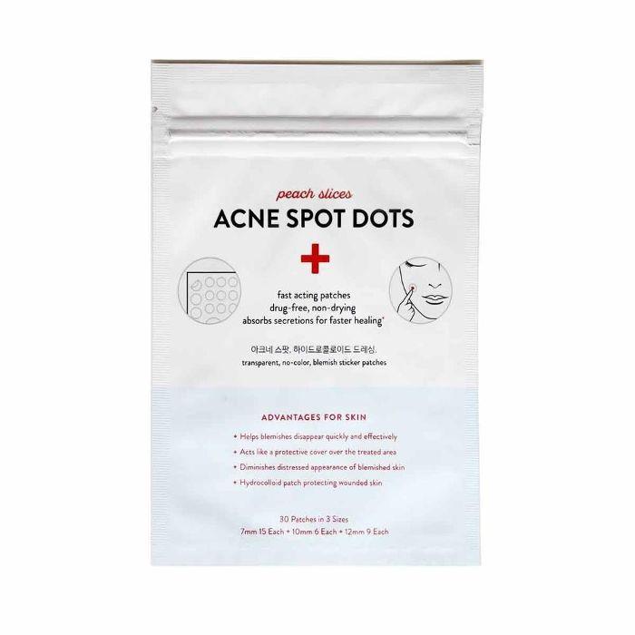 Peach Slices Acne Spot Dots