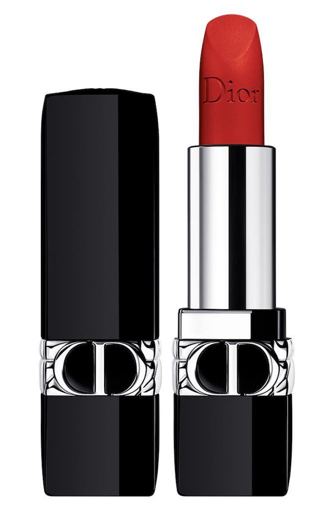 Rouge Dior in 999 Matte
