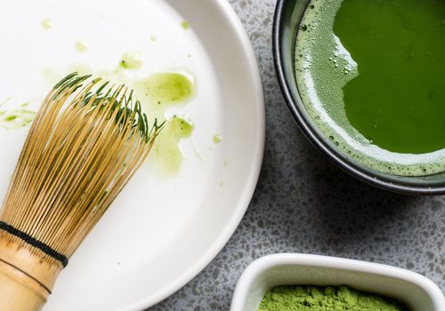 matcha green tea set