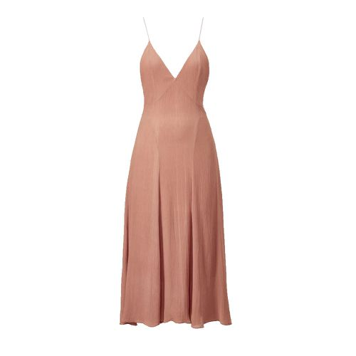 Tove Celise Silk Slip Dress