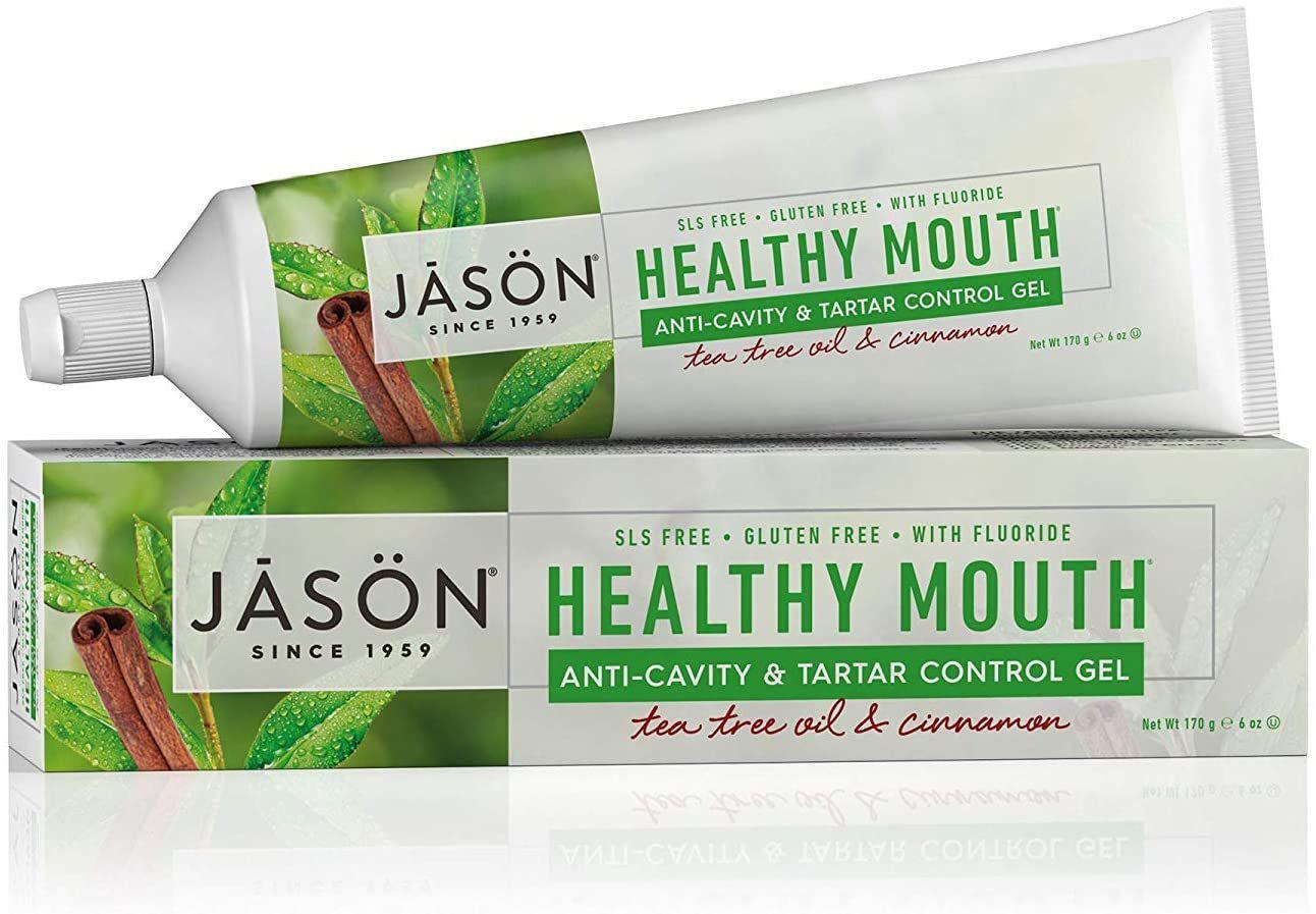 Jason Healthy Mouth Tartar Control Flouride-Free Toothpaste