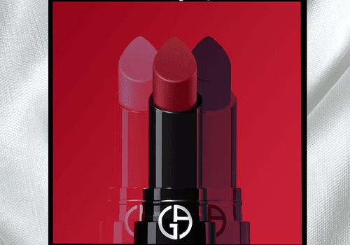 Armani Beauty lipstick