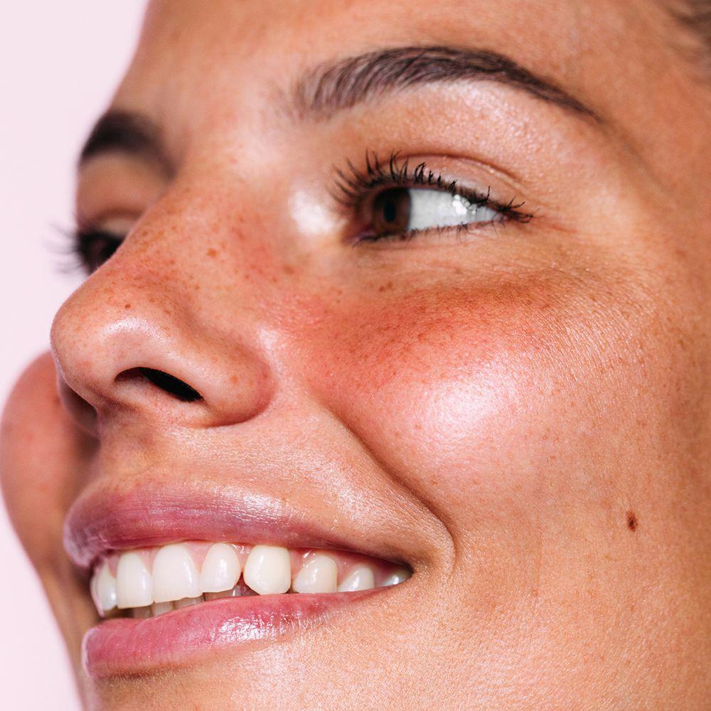 bright clear skin portrait