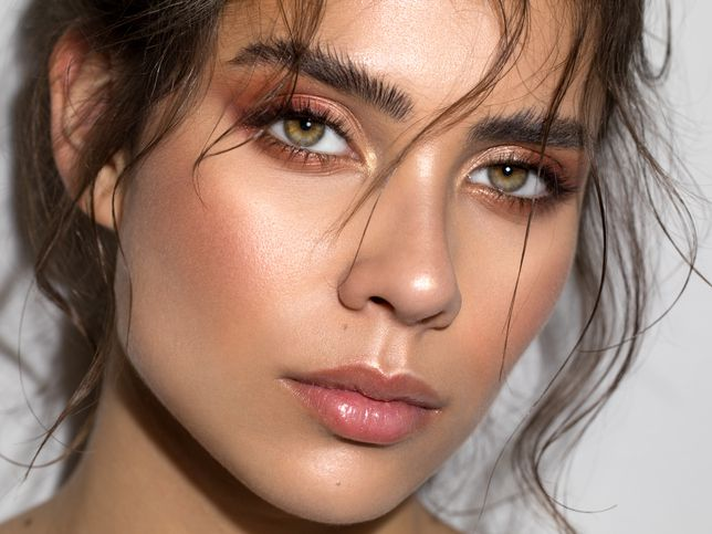 Simple Makeup For Tanned Skin