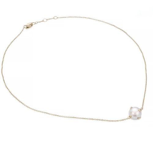 Bea Bongiasca Gold Pearl Rice Necklace