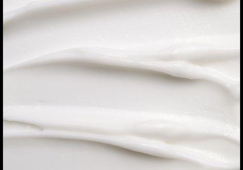 close up of sunscreen texture