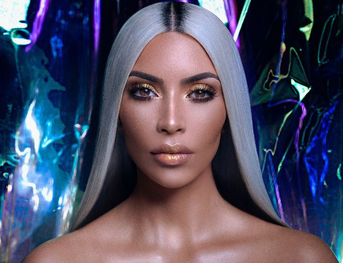 Kim Kardashian KKW Beauty Ultralight Beam Products Interview