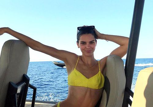 Kendall Jenner Abs Workout
