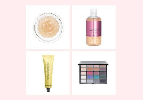 product compilation of h and m beauty products