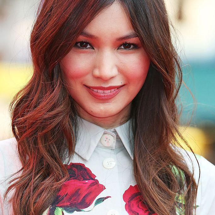 Gemma Chan wavy, mid-length hair