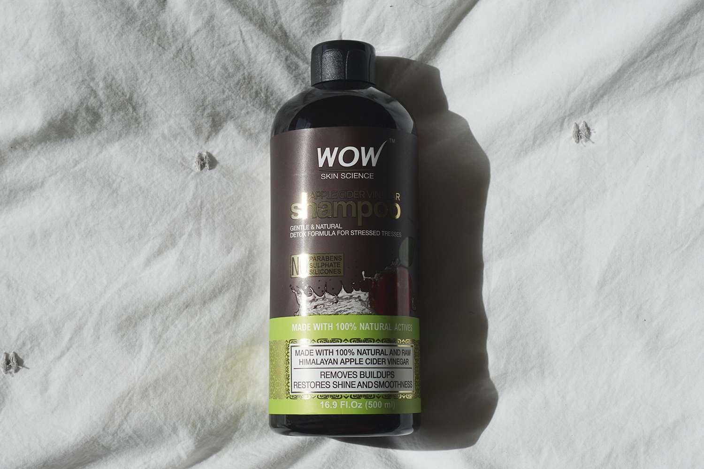 wow apple cider vinegar shampoo