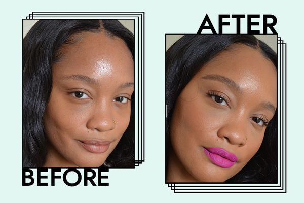 dior matte foundation before and after