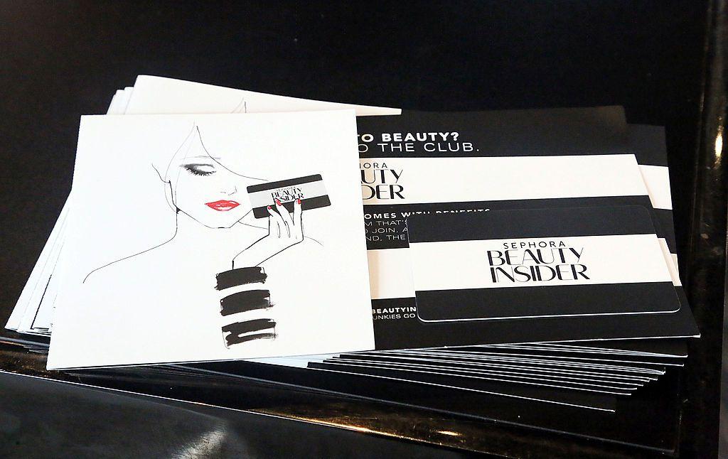 Sephora Beauty Insider cards