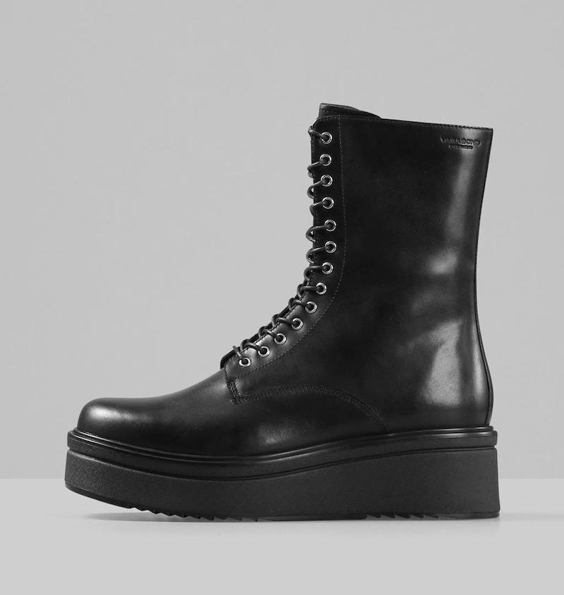 Tara Leather Boots