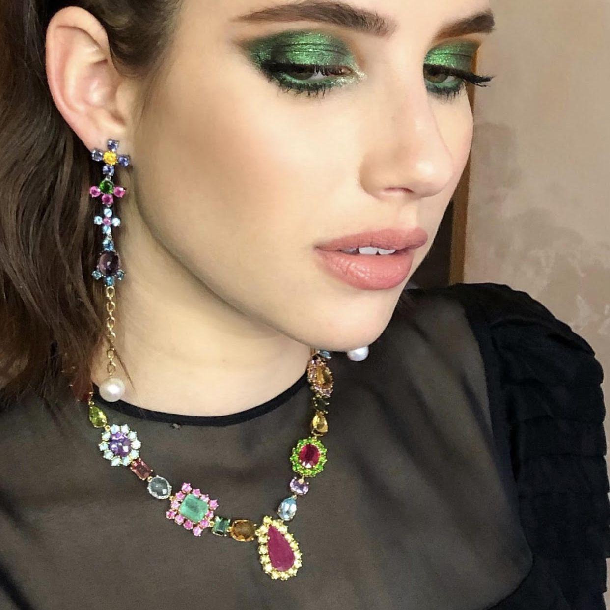 emma roberts green shadow