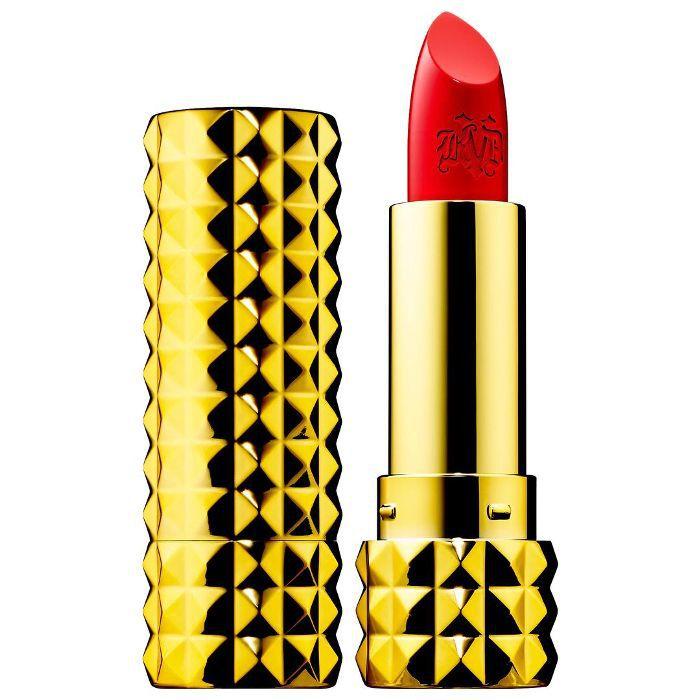 10th Anniversary Studded Kiss Creme Lipstick Santa Sangre 0.12 oz/ 3.4 g