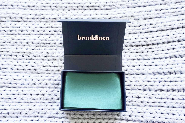 brooklinen silk pillowcase