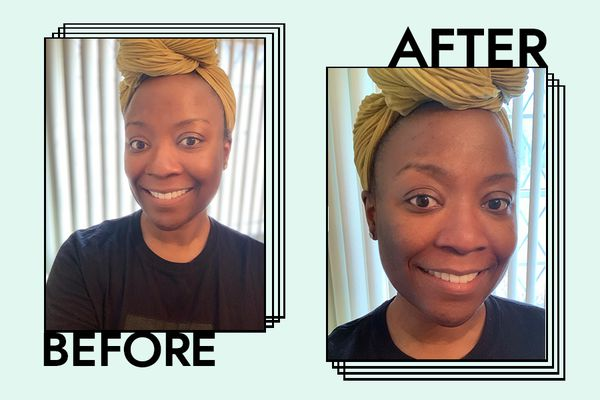 Aveeno Positively Radiant Moisturizer Results on Donecia Pea