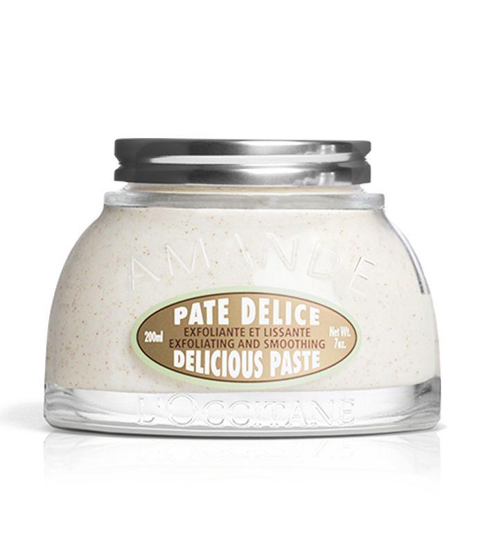 Best Body Scrub: L'Occitane Almond Delicious Paste Body Scrub