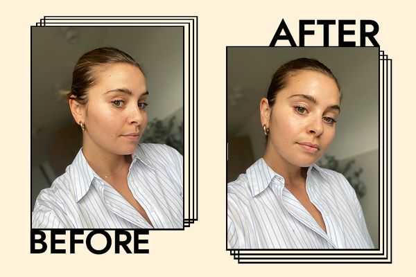 Smashbox Photo Finish Primer Water Results on Emily Algar