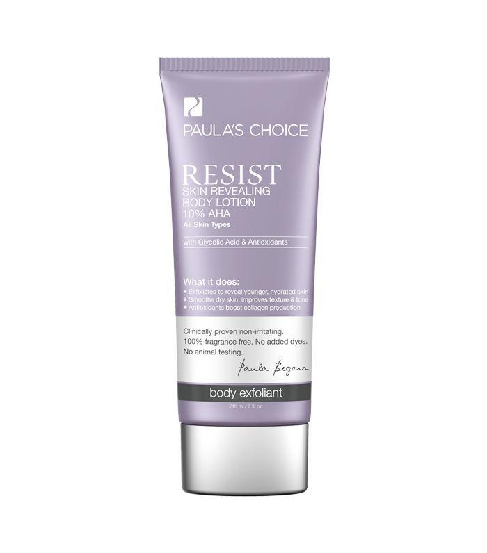 Best Body Peels: Paula's Choice Resist Skin Revealing Body Lotion 10% AHA